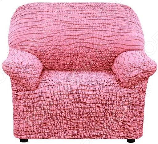 Натяжной чехол на кресло Еврочехол «Тела Ридже»