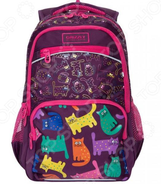 Рюкзак школьный Grizzly RG-965-1/2