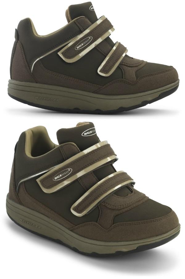 Кроссовки адаптивные женские Walkmaxx Wedge. Цвет: коричневый 3