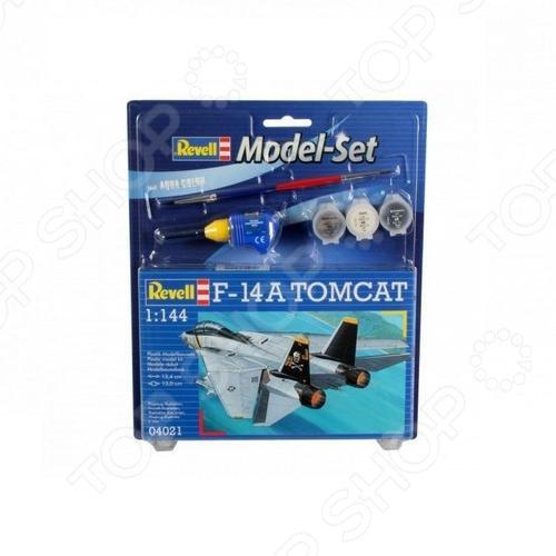 Сборная модель истребителя-перехватчика Revell F-14A «Томкэт» сборная модель истребителя revell фердинанд sd kfz 184