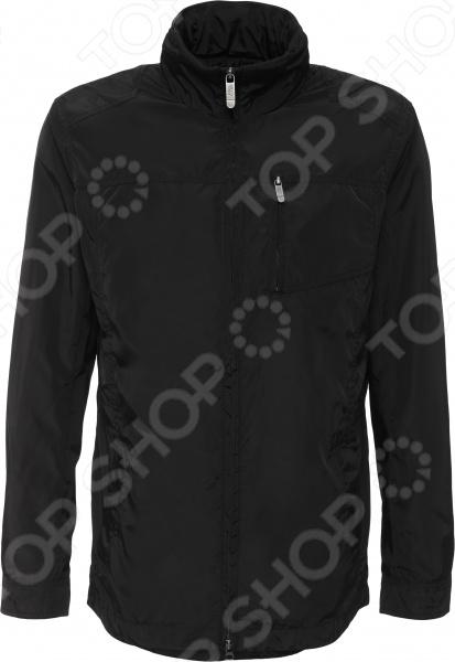 Куртка Finn Flare B16-42004. Цвет: черный