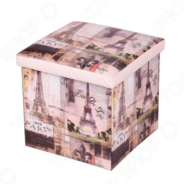 Пуф-короб для хранения Miolla Hotel De Lys Miolla - артикул: 1699849