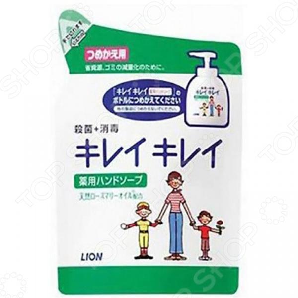 Запасной блок с жидким мылом для рук Lion антибактериальное запаснойблокдляунитазаморская