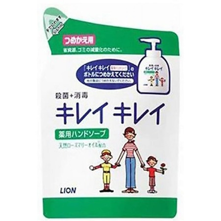 Купить Запасной блок с жидким мылом для рук Lion антибактериальное