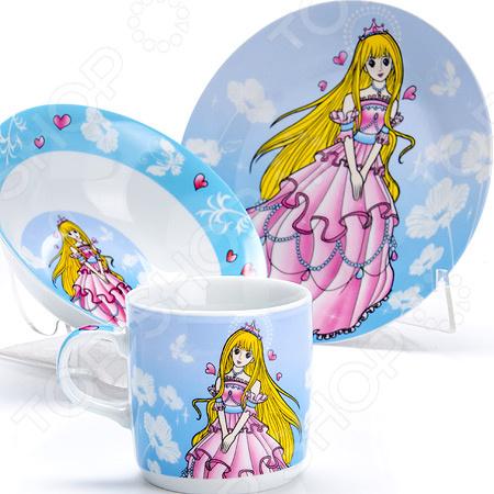 Набор посуды для детей Loraine «Принцесса» LR-27341