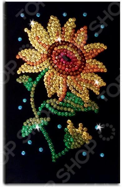 Набор для создания мозаики Волшебная мастерская «Подсолнух» Набор для создания мозаики Волшебная мастерская «Подсолнух» /