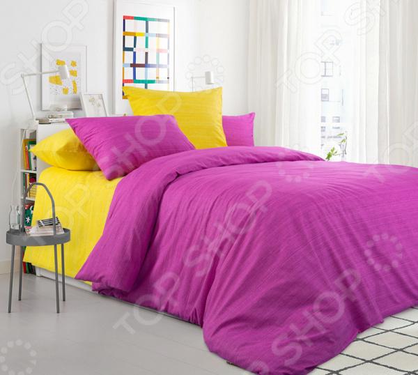 Комплект постельного белья ТексДизайн «Яркая астра»