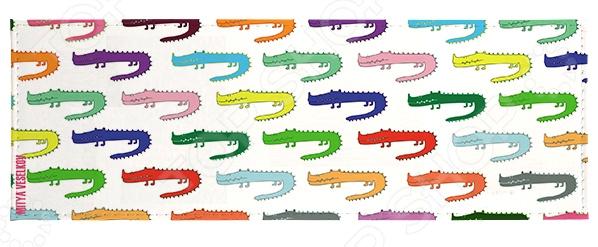 Обложка для студенческого билета Mitya Veselkov «Цветные крокодилы» толочин астана цена билета