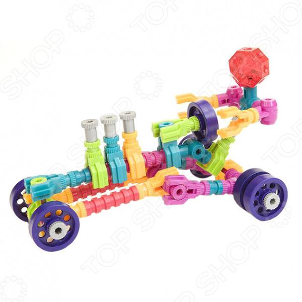 Конструктор развивающий Jawbones «Гоночная машина». Количество элементов: 50