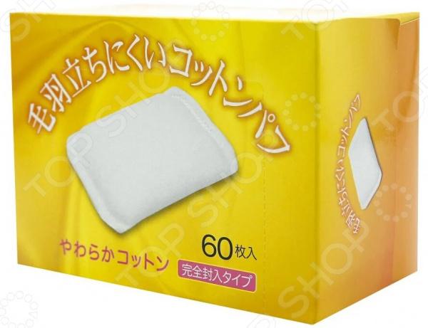 Подушечки ватные Kyowa «Антиаллергенные» maneki подушечки ватные косметические lovely прямоугольные с пресс линиями 80 шт