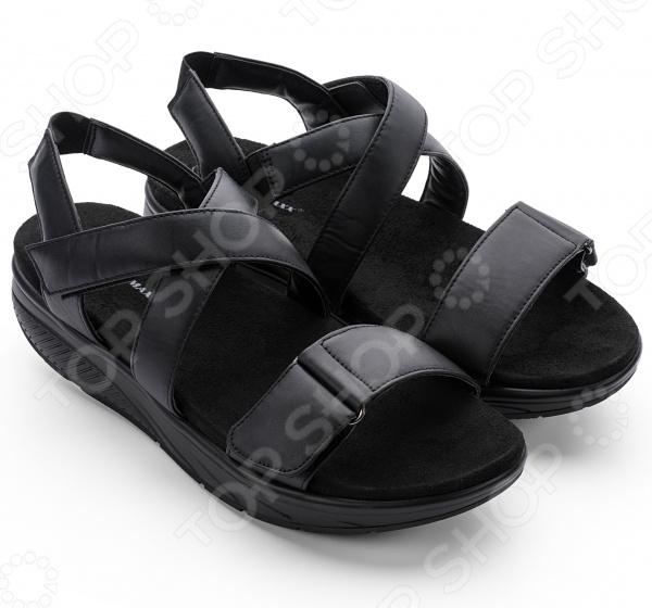 Сандалии дышащие мужские Walkmaxx 3.0. Цвет: черный
