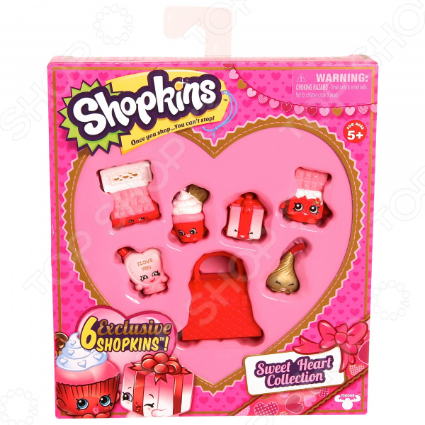 Игровой набор с фигурками Moose «Сладкое сердечко» фигурки игрушки moose игровой набор шопкинс модная лихорадка gym fashion