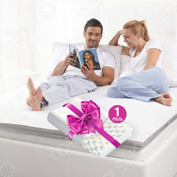 Наслаждайтесь более комфортным сном благодаря матрасу-топперу для дивана Dormeo Silver-Ion Contour. Матрас-топпер для дивана Silver-Ion Contour отличное решение, для всех, кто хочет улучшить свое спальное место, сделав его более комфортным. Верхней слой наполнителя матраса с пирамидообразной структурой 2 см , обеспечивает максимально равномерную опору при распределении вашего веса. Благодаря такой структуре наполнителя, воздух циркулирует и не образуется влажность. Поверхность остается сухой и свежей. Особая пирамидообразная структура предает ощущение легкого массажа на протяжении всей ночи. Спите лучше и наслаждайтесь каждой минутой, проведенной в заново обретенном комфорте с матрасом-топпером для дивана Silver Ion Contour. Просто постелите его на: свой старый неудобный диван; изношенный матрас; пол; в палатке и т.д. Равномерная жесткость необходимая опора. Нижний слой наполнителя матраса-топпера для дивана Silver Ion Contour сделан из 3 см высококачественной пены Ecocell, которая обеспечивает превосходную поддержку вашему телу. Пена никогда не теряет свою форму, независимо от прикладываемого давления. Благодаря 3-мерной ячеистой структуре, она остается постоянно эластичной. Верхней слой наполнителя матраса с пирамидообразной структурой 2 см , обеспечивает максимально равномерную опору при распределении вашего веса. Благодаря данному слою вы во время сна сможете наслаждаться приятным чувством массажа, к тому же пирамидообразный слой также улучшает циркуляцию воздуха. Ткань 3D Airmesh по бокам и нижней стороне обеспечивает постоянную циркуляцию воздуха и таким образом создает свежие и сухие условия для сна. Для дополнительной гигиены покрытие матраса оснащено молнией, его можно стирать в стиральной машинке. Весь чехол матраса для дивана обработан пропиткой CleanEffect данное средство защищает не только чехол матраса, но и весь матрас. Пропитка препятствует размножению бактерий, микробов и пылевых клещей. Преимущества Dormeo Silver-Ion Contour:  Наполнение: Ecocell с