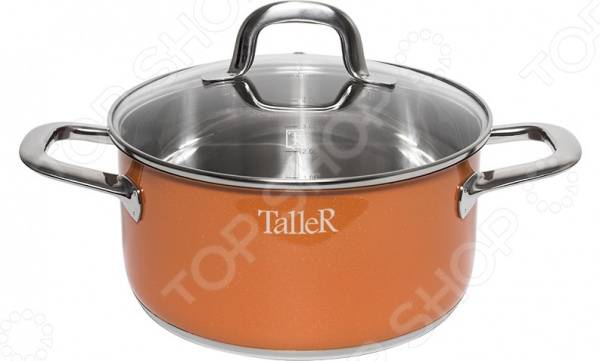 Кастрюля TalleR TR-7394 кастрюля taller tr 7394 5л