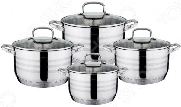 Набор посуды для готовки Rainstahl RS-1337-08 набор кухонной посуды rainstahl rs 1086