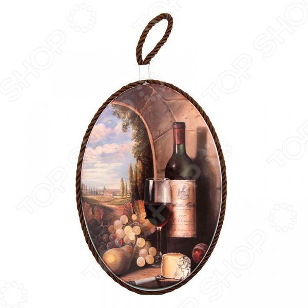 Подставка под горячее Elan Gallery «Виноград и вино»