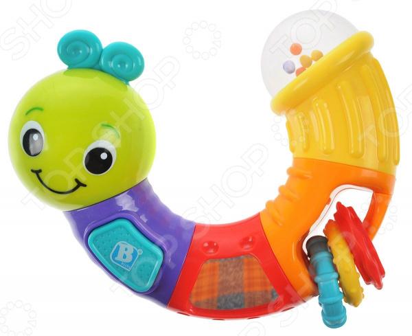 Игрушка развивающая для малыша B kids «Веселая гусеничка» игрушка черепашка b kids