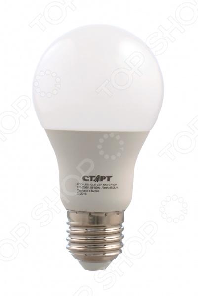 Лампа светодиодная Старт ECO LEDGLSE27 10W 30