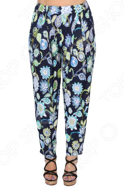 Брюки Blagof Брюки «Натали». Цвет: бирюзовый брюки и капр