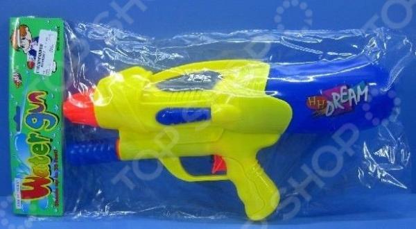 Пистолет водный 1719295 водный пистолет тилибом с помпой 45см красный для мальчика