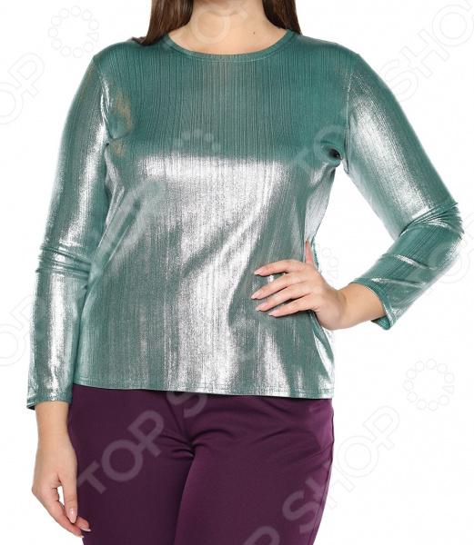 Блуза Blagof «Изасканный блеск». Цвет: изумрудный