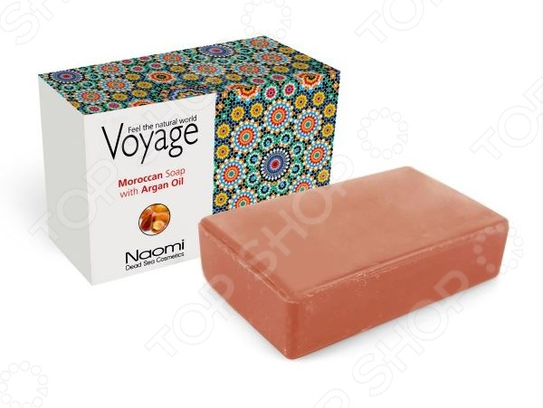 Мыло косметическое Bradex Voyage. Maroccan Soap With Argan Oil