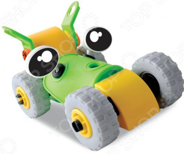 Конструктор-игрушка Юный Механик «Гонки 2 в 1» конструктор дерево кря dk 002 юный строитель 2
