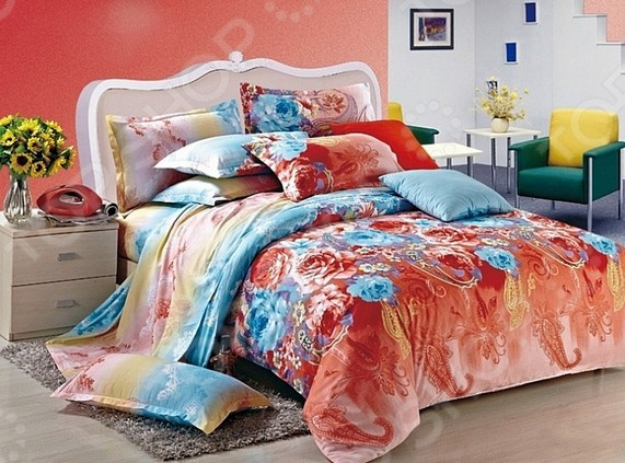 Комплект постельного белья La Noche Del Amor А-683 постельное белье la noche del amor комплект постельного белья дуэт сатин рисунок 680