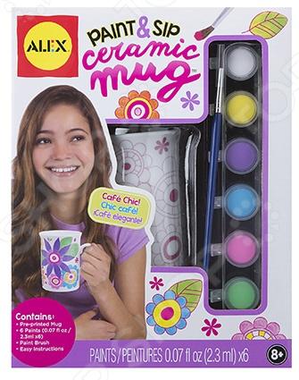 Набор для росписи Alex «Распиши сувенир из фарфора» заготовки под роспись alex набор распиши фарфоровый сервиз