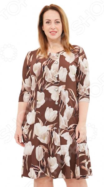 Платье Wisell «Цветы для Лилии»