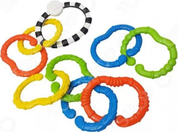 Игрушка развивающая для малыша B kids «Веселые колечки» Mini set