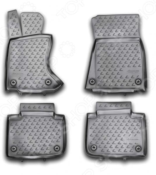 Комплект ковриков в салон автомобиля Novline-Autofamily Lexus GS 350 2012