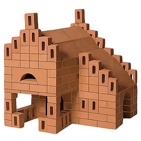 Купить Конструктор из глины Brick Master «Летний домик»