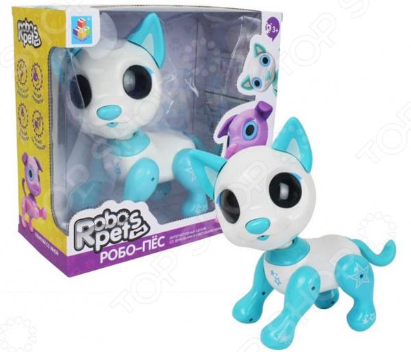 Игрушка-робот интерактивная 1 Toy «Робо-пёс белый»