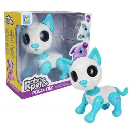 Купить Игрушка-робот интерактивная 1 Toy «Робо-пёс белый»