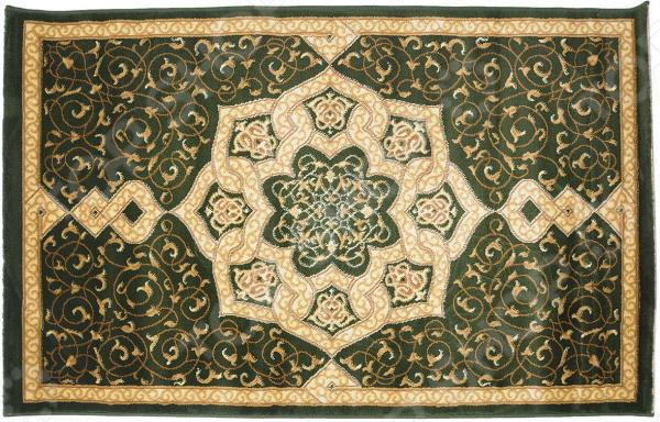Ковер Kamalak tekstil «Самарканд». Цвет: кремовый, зеленый самарканд квартиру ул гагарина