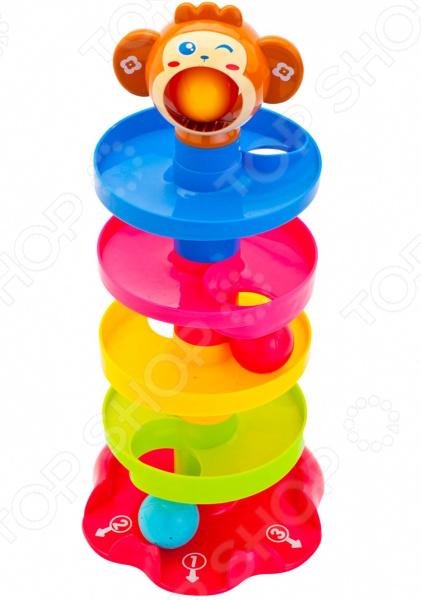 Игрушка-пирамидка Bradex «С шариками» DE 0214 игрушка bradex шведские городки de 0101