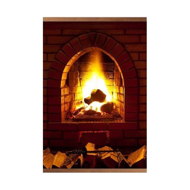 фото Согревающее панно «Доброе тепло» (Камин)
