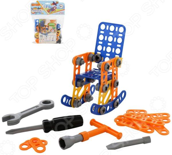 Конструктор игровой POLESIE «Изобретатель. Кресло-качалка №1» Конструктор игровой POLESIE «Изобретатель. Кресло-качалка №1» /