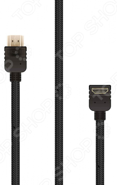 Кабель HDMI Rombica Digital HX10AB 70m hdmi 2 0 left angled 90 degree male to female active repeater extender booster coupler adapter 1080p hdtv