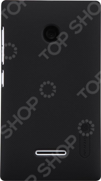 Чехол защитный Nillkin Microsoft Lumia 435/Lumia 532 skinbox защитное стекло skinbox для microsoft lumia 435 532 0 3mm 2 5d для microsoft lumia 435 532