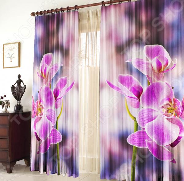 Фотошторы ТамиТекс «Орхидея»