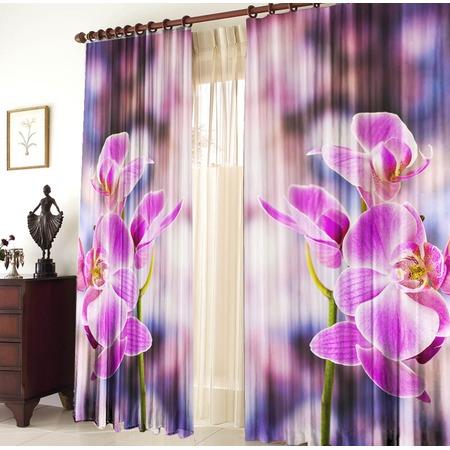 Купить Фотошторы ТамиТекс «Орхидея»