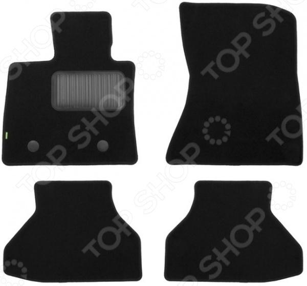 Комплект ковриков в салон автомобиля Klever Standart для BMW X6 Е71 внедорожник, 2008-2012 атс ip yeastar standart