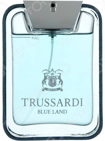 Туалетная вода для мужчин Trussardi Blue Land