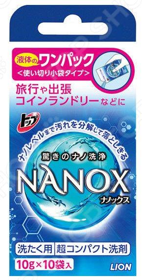 Гель для стирки Lion «Топ» Nanox Super 182139