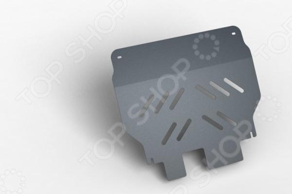 Комплект: защита картера и крепеж Novline-Autofamily Chery Kimo (А1) 2007: 1,3 МКПП