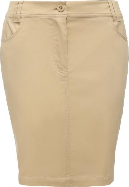 Юбка Finn Flare S16-14037. Цвет: светло-бежевый юбка gas цвет бежевый