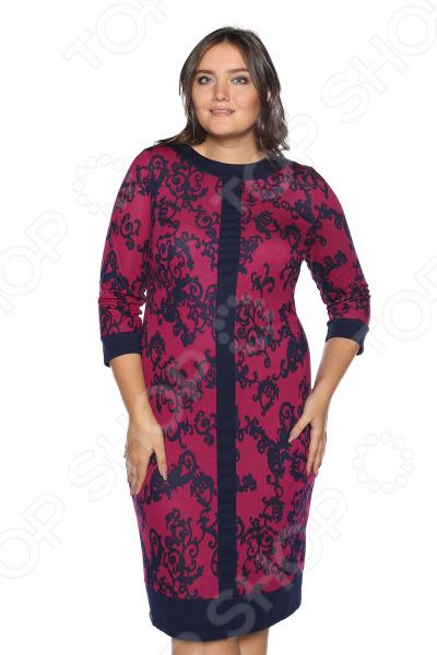 Платье VEAS «Благродная». Цвет: фиолетовый