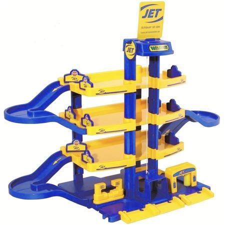 Купить Набор игровой для мальчика Wader Jet «Паркинг 4-уровневый»